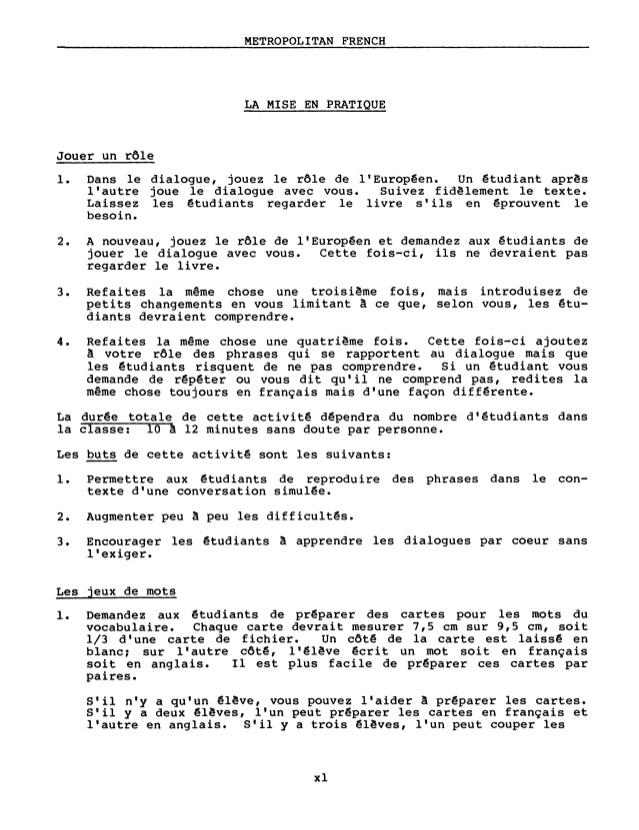 Fabuleux Learn French - FSI FAST Metropolitan Course PM15