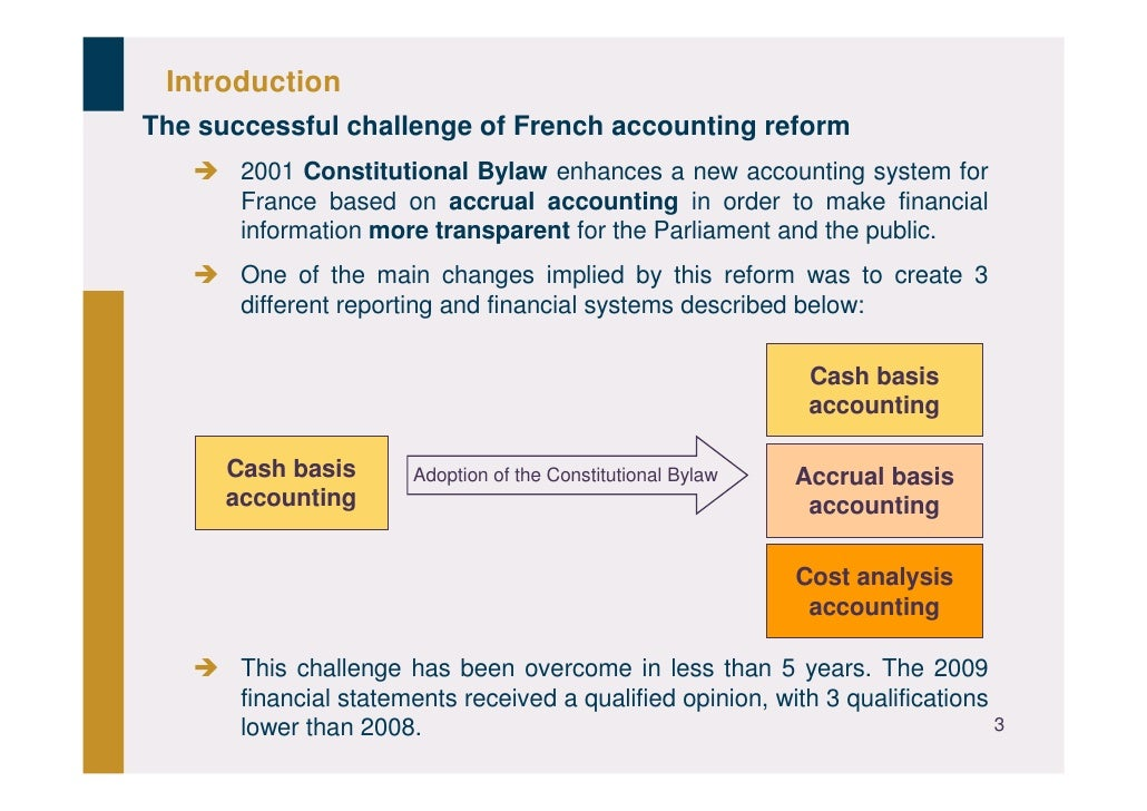 Frenchaccounts2009 theaccountingreform Slide 3