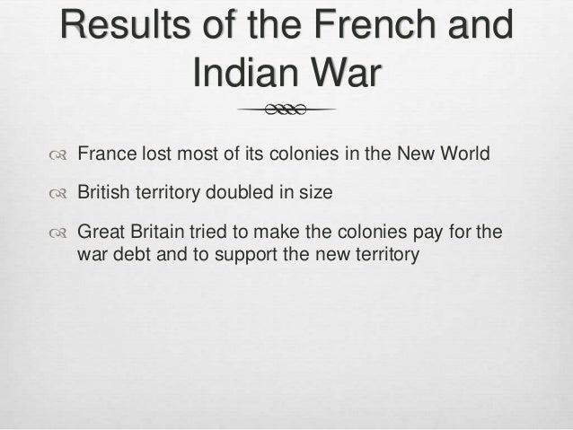 French and indian war research papers