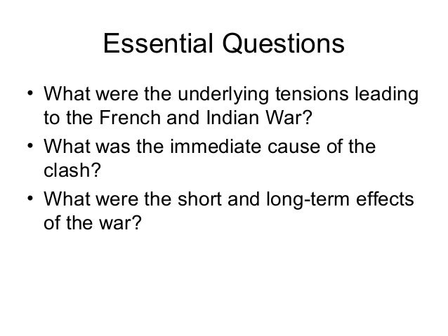 2004 ap us history dbq french and indian war essay Ap us history essay guide for unit ii source: french and indian war questions (1 dbq and 2 frqs) 2004 exam (dbq):in what ways did the french and indian war.
