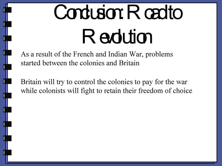 french and indian war conclusion
