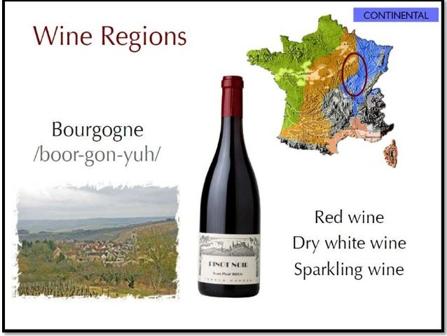 French and Italian wine regions
