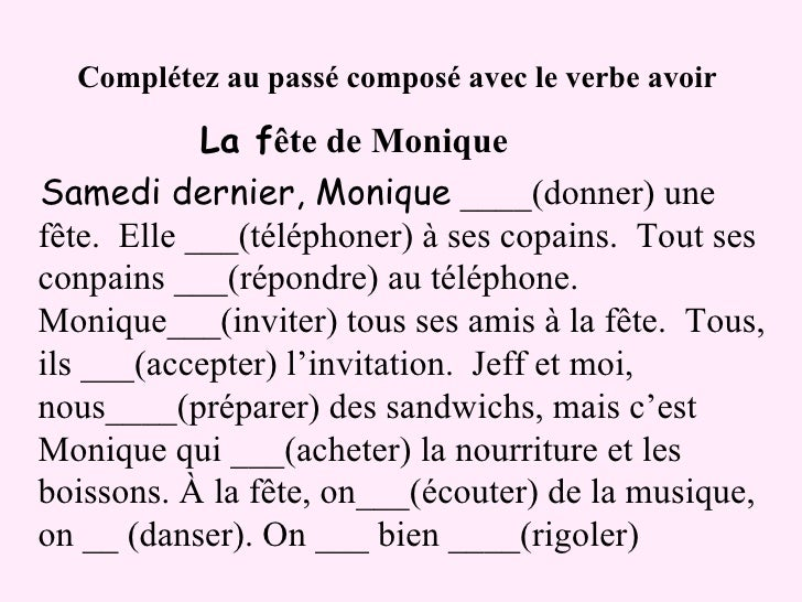 essayer in passe compose Être verbs passé composé in this lesson you will learn all about french verbs which are conjugated with être (to be) irreguar verbs passe compose.