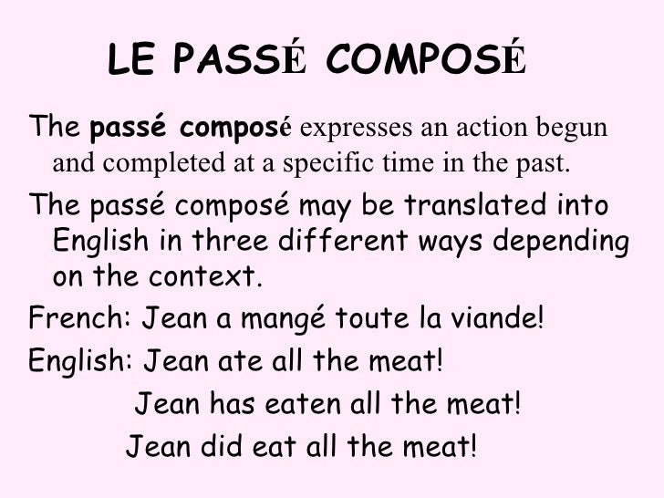 essayer in passe compose French4menet # the best place to learn french discover my premium platform with 100 000's of videos.