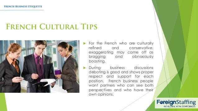 French business customs