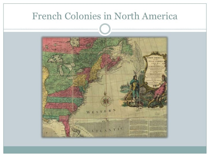 A history of the french settlements in north america