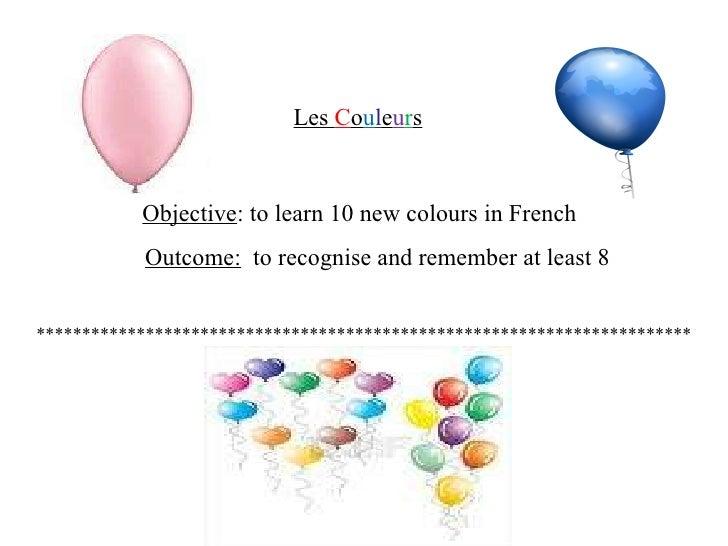 Frenchcolours Slide 2