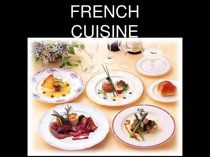French cuisine for A french cuisine