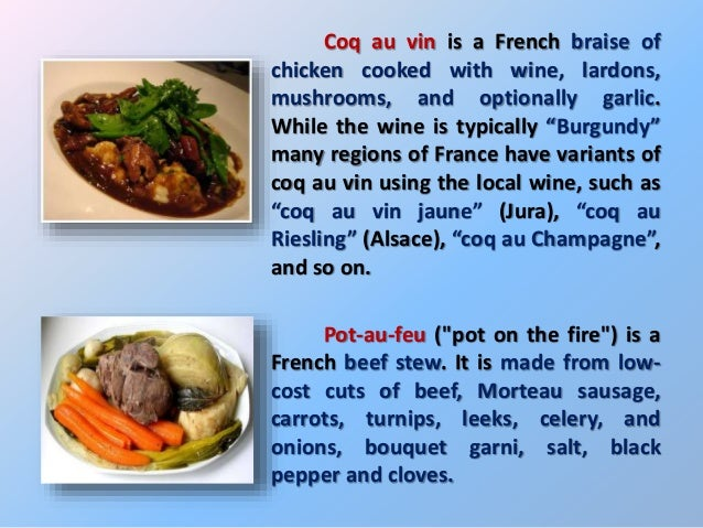 French cuisine ppt - 17th century french cuisine ...