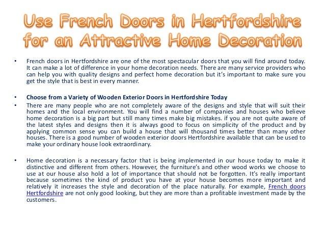 French doors hertfordshire Slide 2