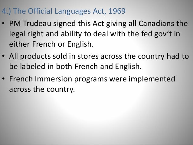 french english canadian relation Communicating with quebec employees developing english-only policies  in  quebec, however, french is the official language — in both the public  i am no  longer accepting comments on this post relating to language in.