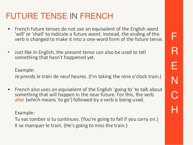 essayer future tense french Essayer conjugation table in french go to the definition page of essayer indicative verbs tenses allow us to talk about the time when the action or state takes.