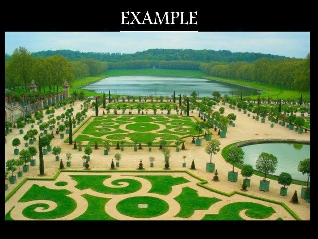French garden at versallies
