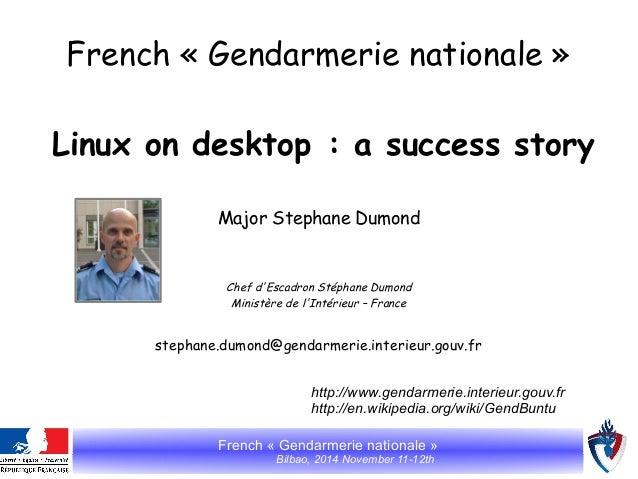 French gendarmerie nationale_ubuntu__libre_con_2014_bilbao