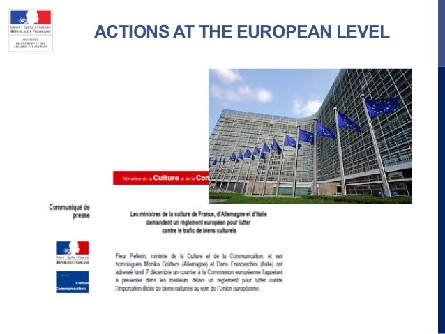 ACTIONS AT THE EUROPEAN LEVEL