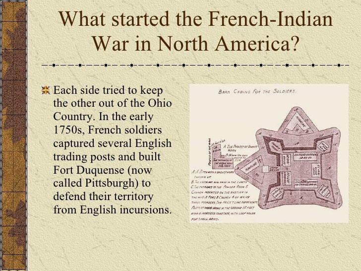 franch and indian war essay This essay contains a partially developed thesis about the effect of the french and indian war's aftermath on the relationship between great britain and the british colonies.
