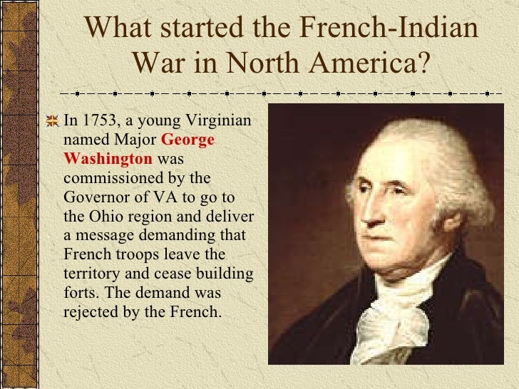 french and indian war research papers The french and indian war the french and indian was a series war between the french and the british starting as the early 1760s the french and indian war took place from 1754-1763 in the 1750s the french and the british were already fighting in europe.