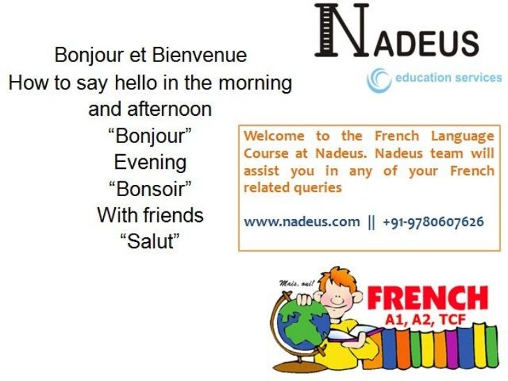 French language training nadeus jalandhar