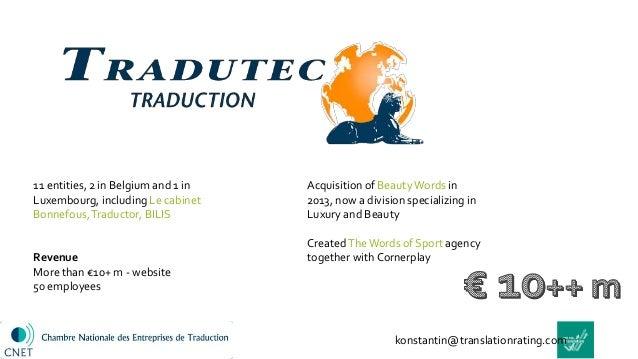 French translation companies 2016