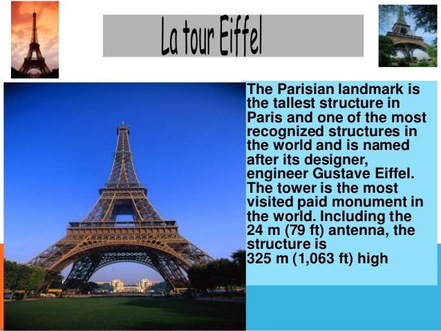 Monuments in france ppt.