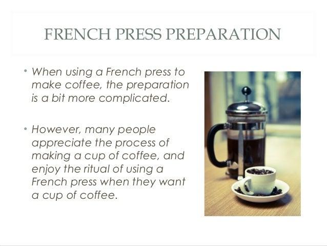 Coffee Maker Vs Coffee Press : French Press Vs. Drip Coffee Machine