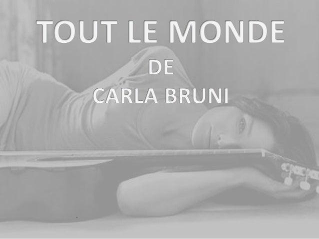 Carla Gilberta Bruni Tedeschi, née le 23 décembre 1967 à Turin (Italie) . Elle est une auteure-compositrice- interprète et...