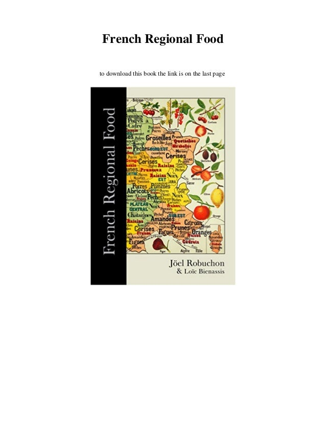 DOWNLOAD] French Regional Food