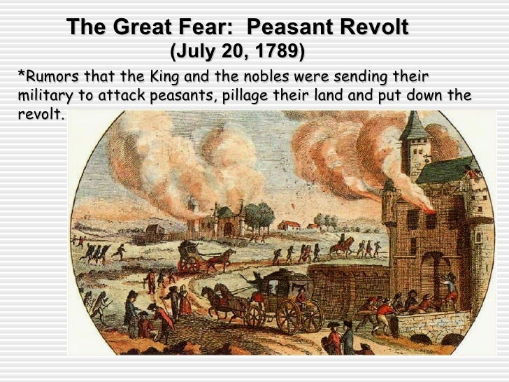 in the french revolution the peasants Absolutism under king louis xvi made life unequal and unjust for the french peasants the french revolution transformed the political and social structure of the.