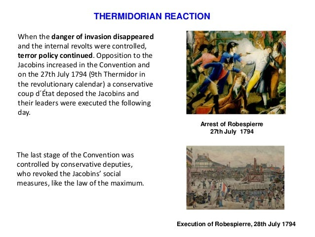 thermidorian reaction The communist international 1919 – 1943 petrograd parade welcoming  comintern delegates in 1920 sections of the comintern introduction founding  of the.