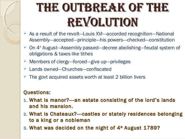the decree abolishing the feudal system august 11 1789 Decrees abolishing the french the feudal system, which took place during the famous night session of the national assembly on august 4th 1789  revised decree,.