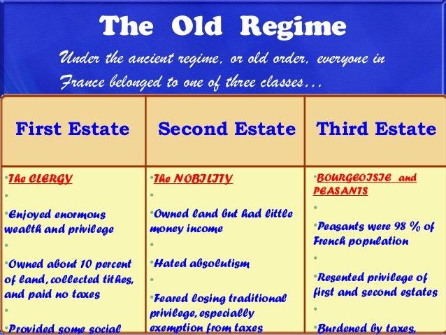 Old regime