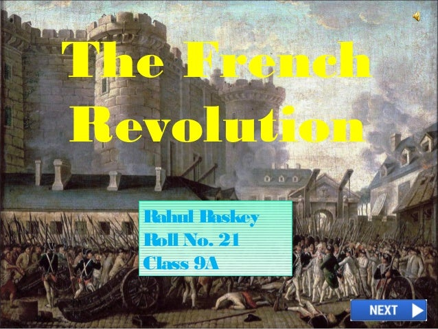 French Revolution Class 9 Ppt