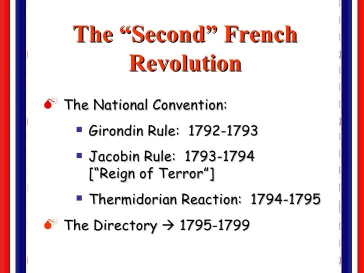 the vital stage of the french revolution In which john green examines the french revolution, and gets into how and why it differed from the american revolution was it the serial authoritarian regimes.