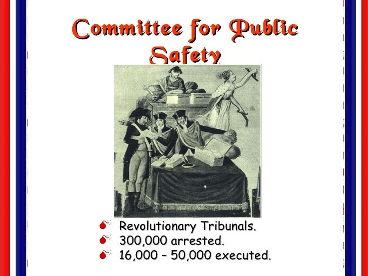 committee of public safety essay Professionalism and ethics in the public health curriculum  values statements, professional consensus papers, and policy reports have been formulated to frame.