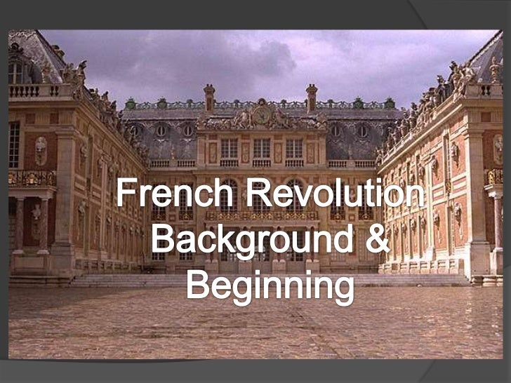 France and the Old Regime Before the revolution France operated on a  system known as the Old Regime. In this system the...