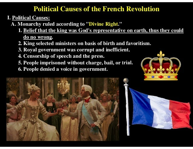 the major causes of the french revolution essay Although the french revolution of 1789 had many long range causes political, social and economic conditions in france at the time contributed to the discontent felt by many french people.