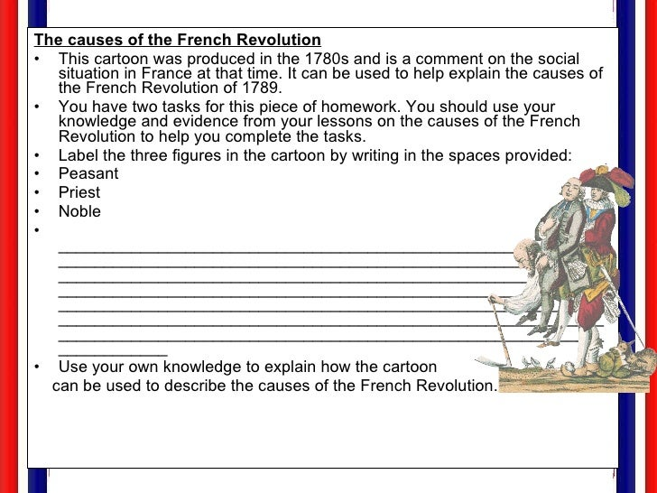 French Revolution For Web – French Revolution Worksheet