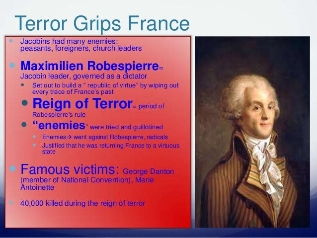 the reign of terror was it justified The reign of terror: document analysis (7 documents)name: document a: from 1789 to 1792, france was a constitutional monarchy what kind of government is that.