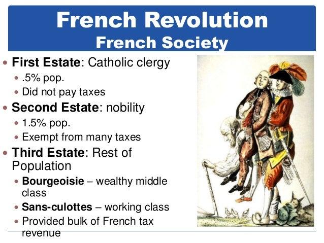 french society during french revolution