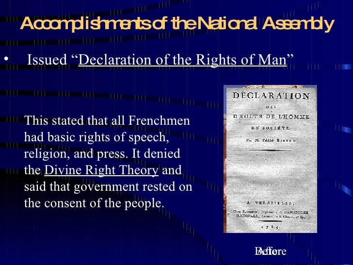 what were the accomplishments of the french revolution