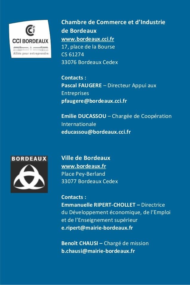 Frenchtech bordeaux entreprises tic mission qu bec for Cci chambre de commerce internationale