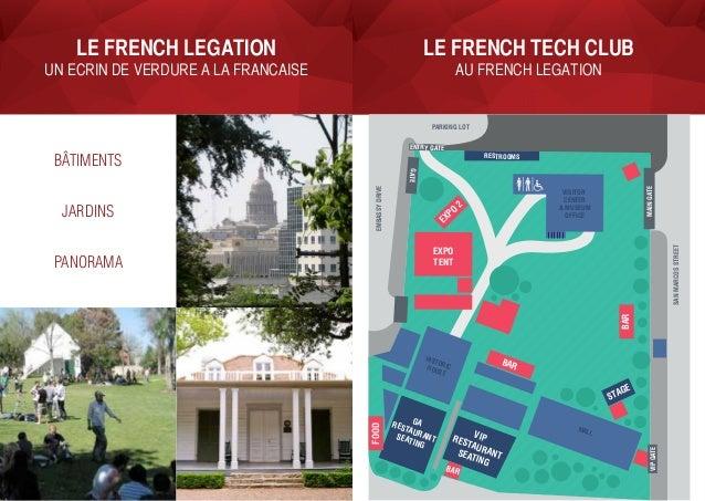 LE FRENCH TECH CLUB au French Legation LE French Legation un ecrin de verdure a la francaise bâtiments jardins panorama BA...