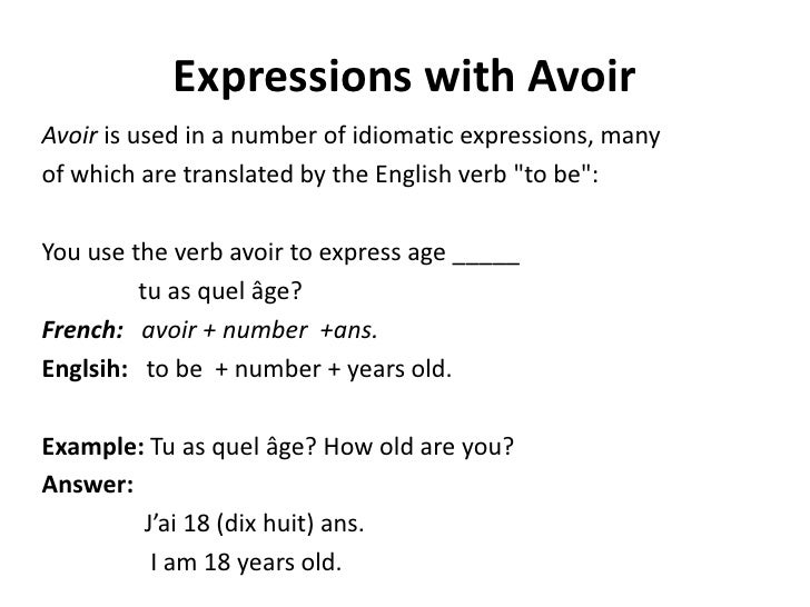 french verbs etre and avoir worksheets pdf