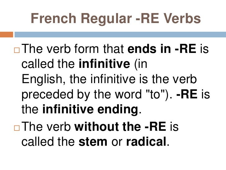 FRENCH VERBS IN IR PRESENT TENSE PART 3