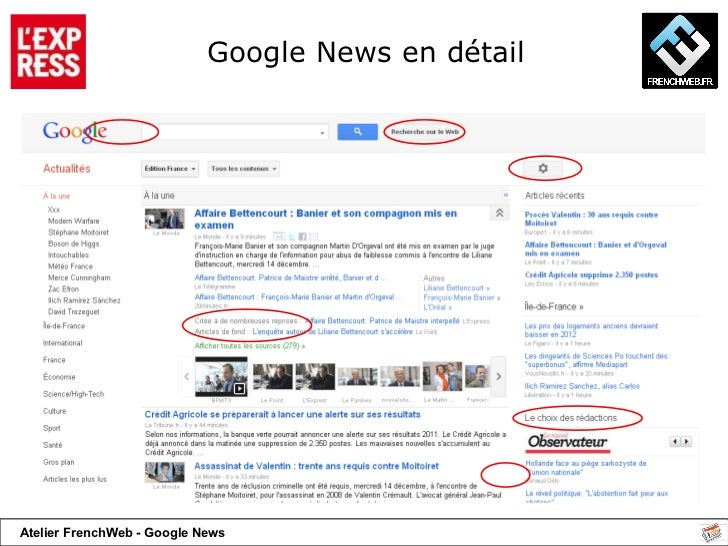 Google News en détail