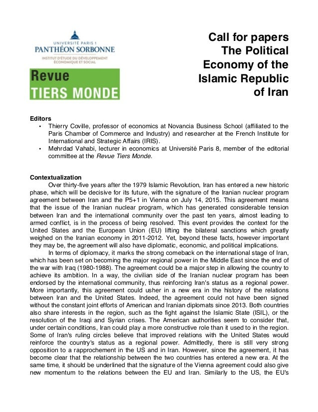 essay on french political economy Accumulation, regulation, and social change: an essay on french political economy alain noel jacques mazier, maurice basle, and jean-francois vidal.