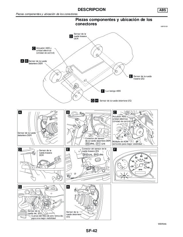1997 Nissan Sentra Sensor Diagram