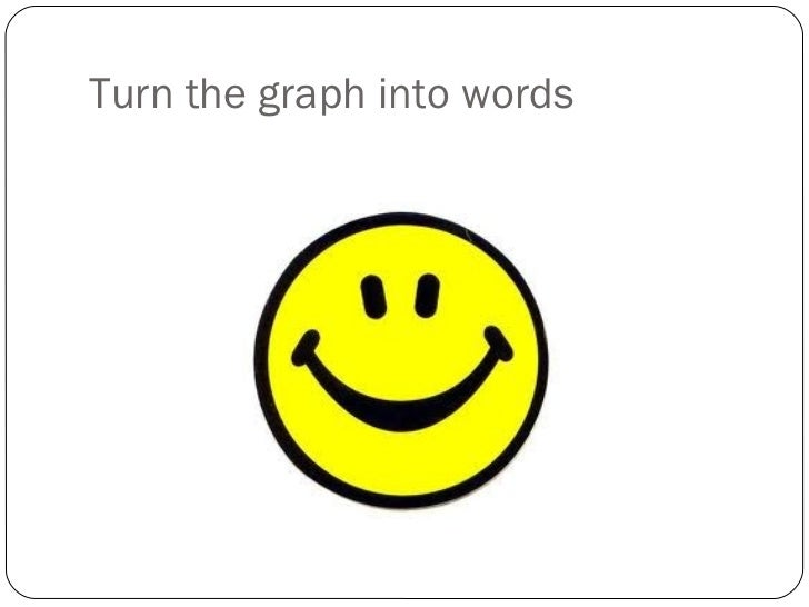 Turn the graph into words