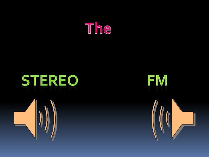 What Stereo Means :-