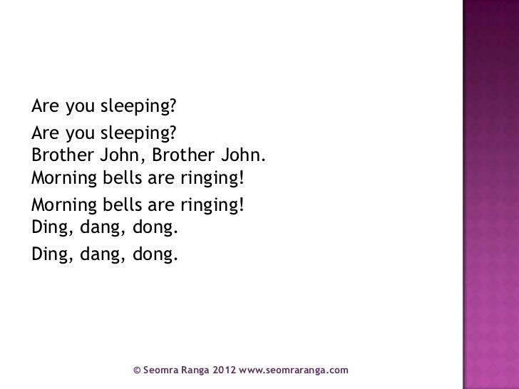 Are You Sleeping Brother John | Kids Songs | Nursery ...